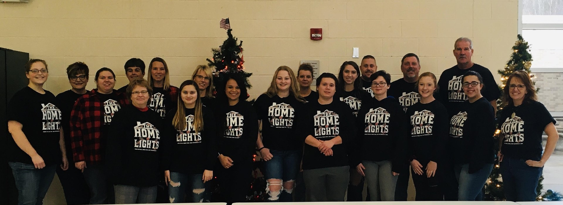 Frontier supporting Haven Allen's Home of Lights