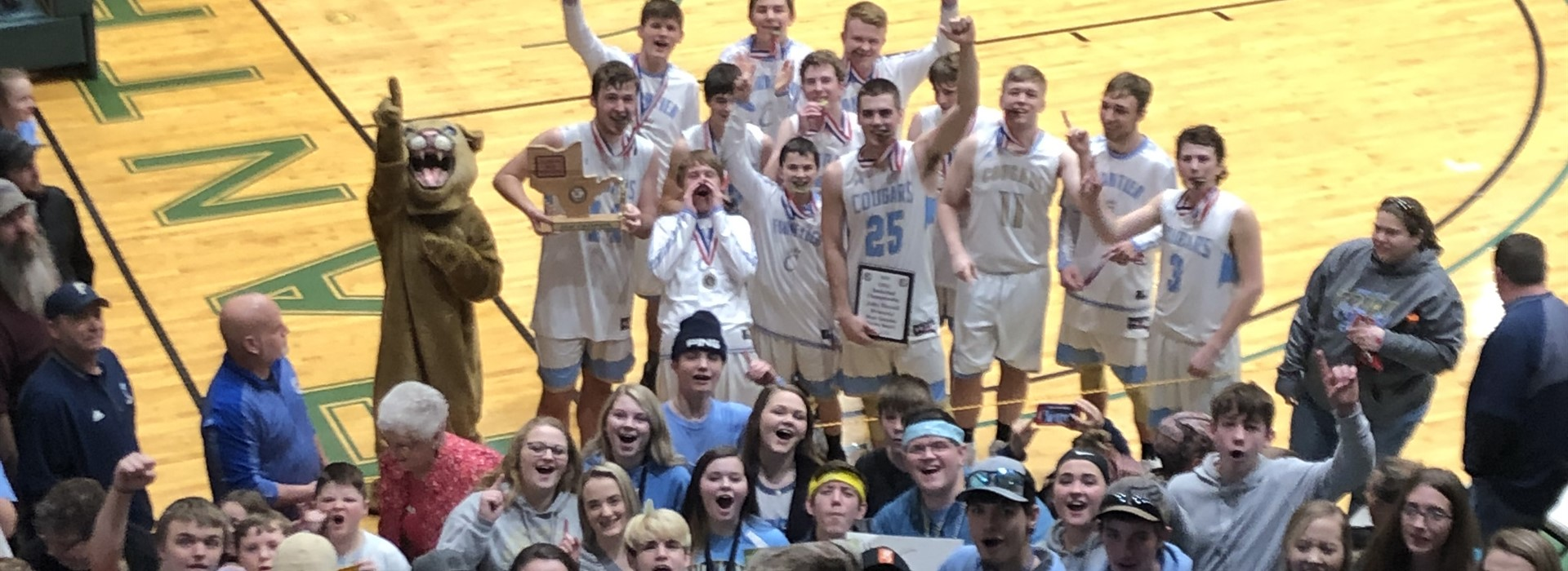 Champions with a Champion Student Section